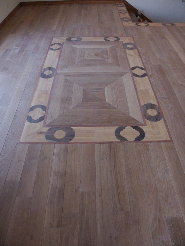 Un decor de parquet original sur mesure