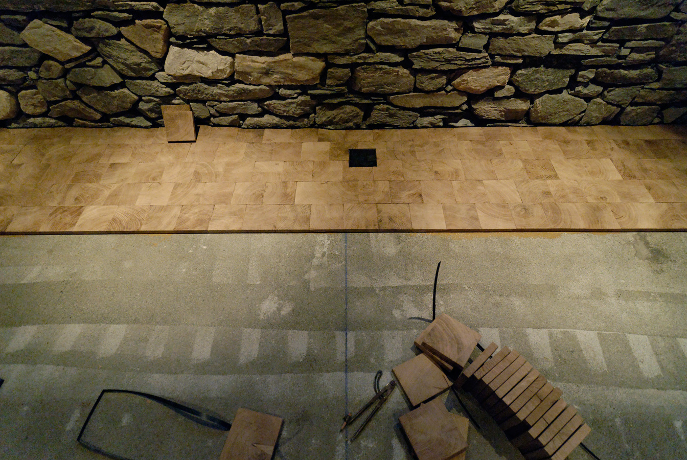Wood flooring installation end grain wood flooring for Wood floor installation
