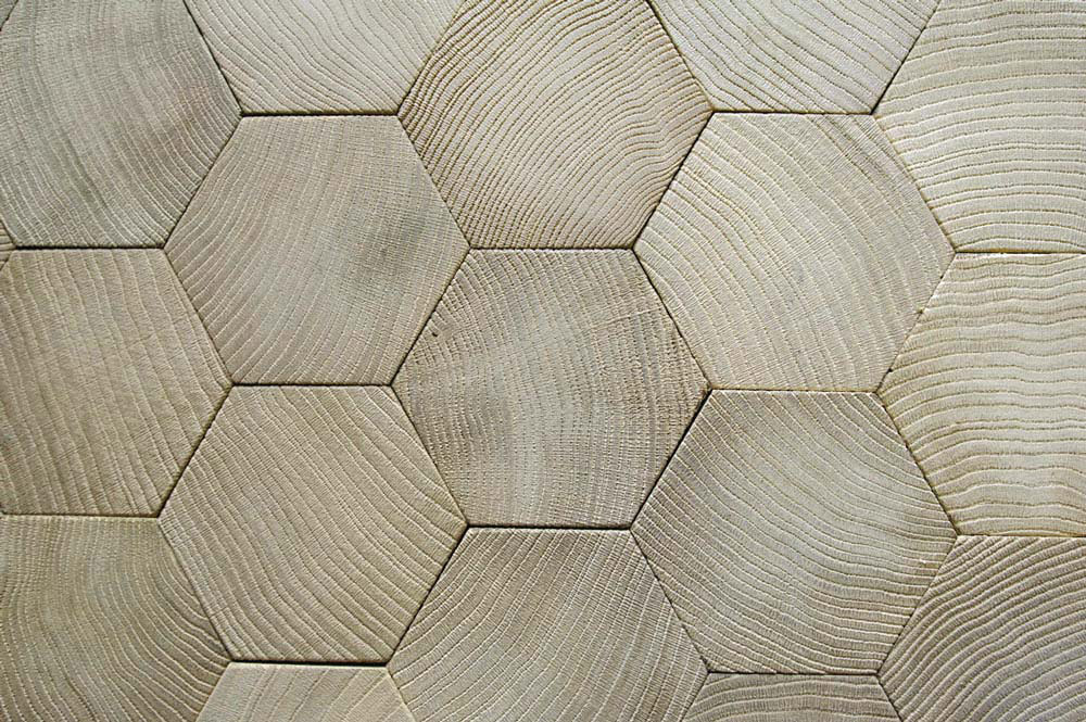 Atelier Des Granges French Parquet End Grain Wood Blocks Floor