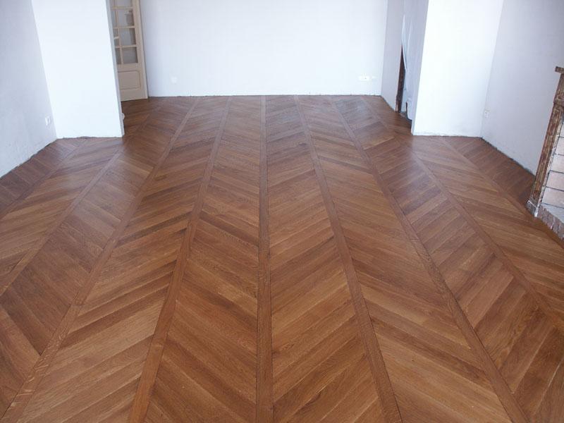 Atelier des granges french parquet chevron hardwood Chevron wood floor