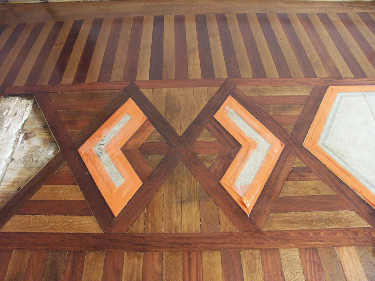 atelier des granges french parquet parquet art nouveau in paris 461. Black Bedroom Furniture Sets. Home Design Ideas