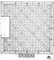 Project design hardwood panel parquet Versailles