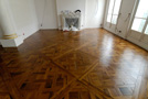 Versailles parquet panels in old oak