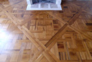 French parquet : old oak
