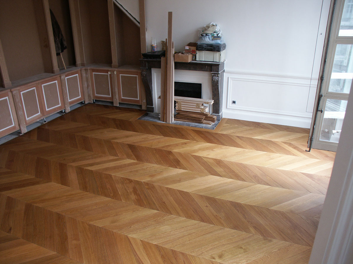 parquet point de hongrie du parquet point de hongrie dans un appartement parisien n 76. Black Bedroom Furniture Sets. Home Design Ideas