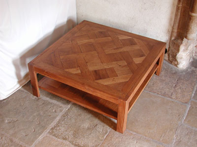 Table basse ch ne tables basses n 235 - Modele table basse ...